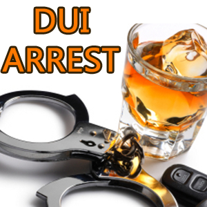 For a DUI Arrest