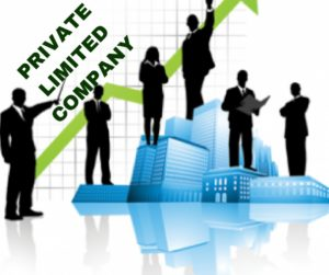 Image That Shows The Concept of Private Limited company.